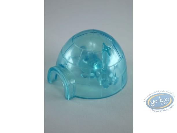 Figurine plastique, Lapins Crétins (Les) : Pôle Nord (igloo)