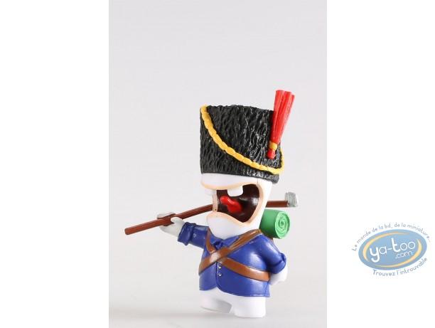 Figurine plastique, Lapins Crétins (Les) : Soldat napoléonien (rateau)
