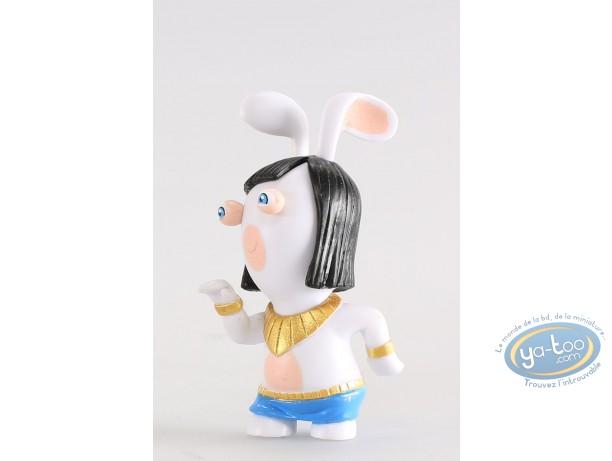 Figurine plastique, Lapins Crétins (Les) : Egyptienne (danseuse)