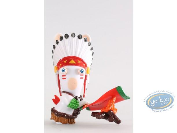 Figurine plastique, Lapins Crétins (Les) : Indien
