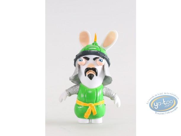 Figurine plastique, Lapins Crétins (Les) : Samourai (vert)