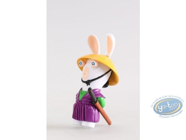 Figurine plastique, Lapins Crétins (Les) : Guerrier Katana (sabre)