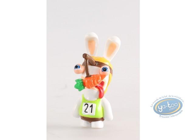 Figurine plastique, Lapins Crétins (Les) : Athlète (lapine)