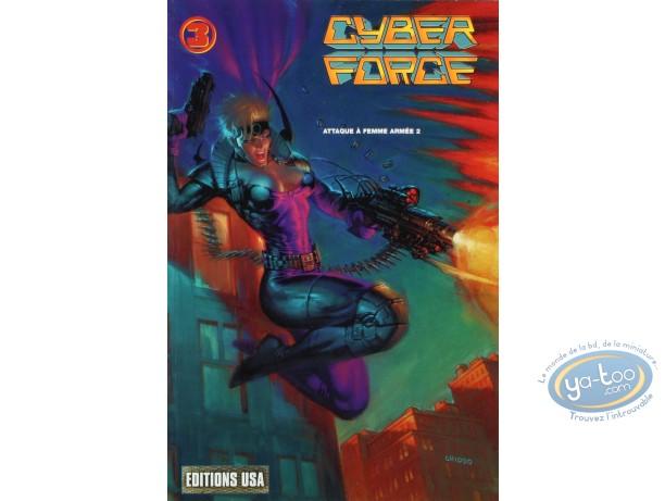 BD occasion, Cyber Force : Cyber Force 3 - Attaque à femme armée 2