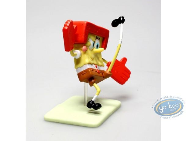Figurine plastique, Bob l'Eponge : Bob l'éponge Football américain