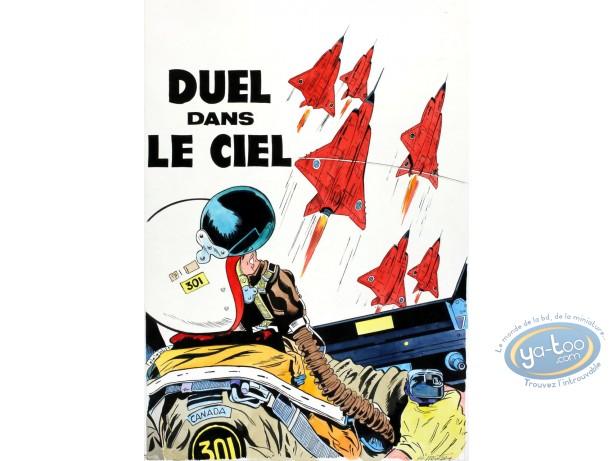Aquarelle, Dan Cooper : Duel dans le Ciel