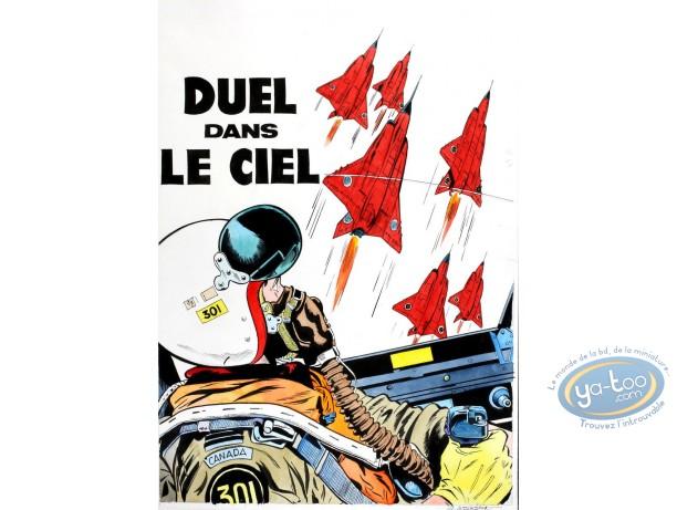 Aquarelle, Dan Cooper : Duel dans le Ciel 2