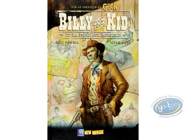 BD occasion, Billy the Kid : Hotz, Billy the Kid et la foire aux monstres