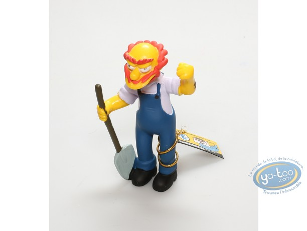 Figurine plastique, Simpson (Les) : Willie