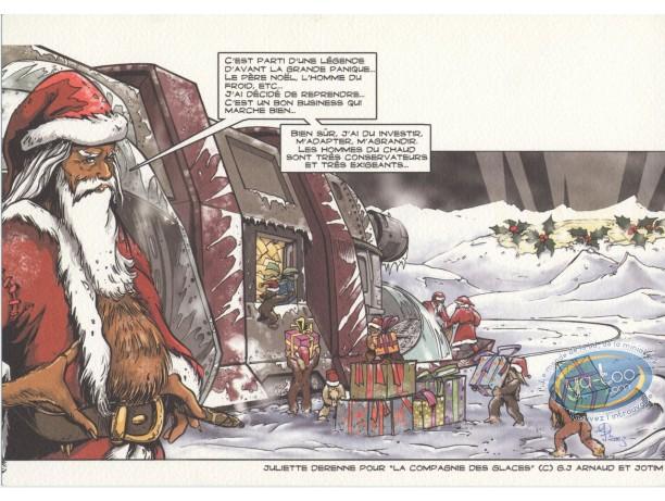 Ex-libris Offset, Compagnie des Glaces (La) : Père Noël