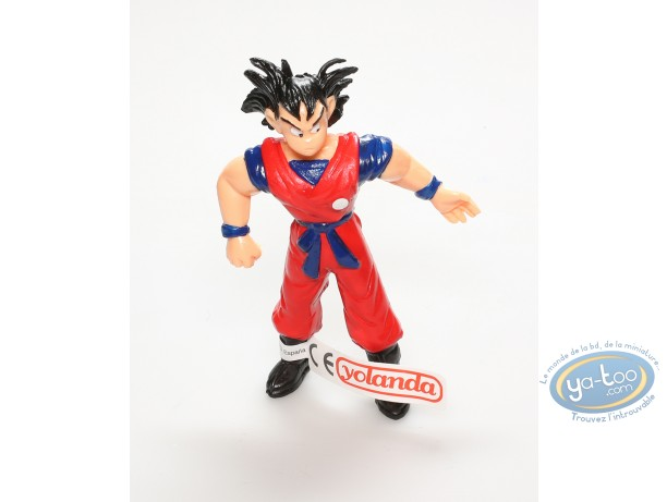 Figurine plastique, Dragon Ball Z : Son Goku cheveux noirs
