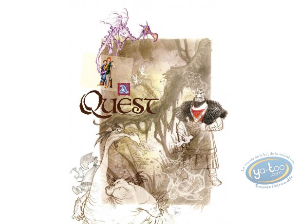 Affiche Offset, A Quest : A Quest