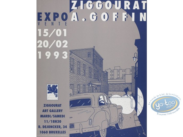 Affiche Sérigraphie, Exposition
