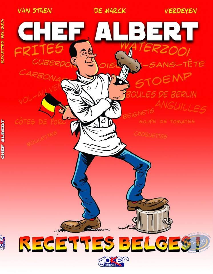 BD neuve, Chef Albert : Recettes belges