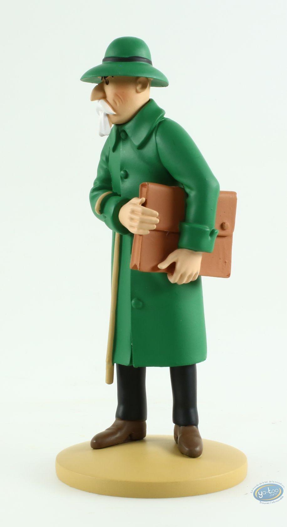 Statuette résine, Tintin : Basil Bazaroff, le marchand de canons, L'oreille cassée Page 34