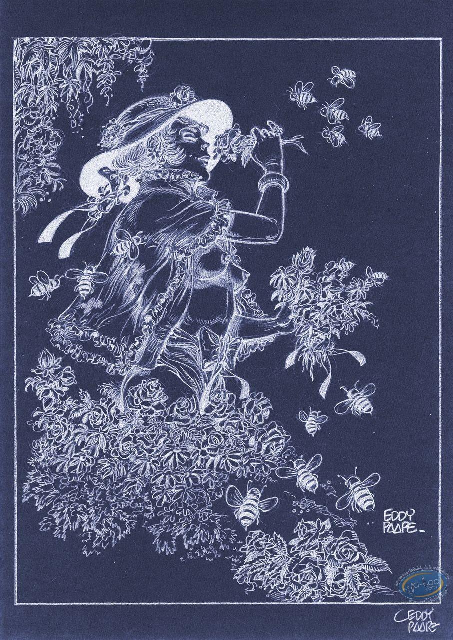 Affiche Offset, Luc Orient : Laura abeilles (négatif)