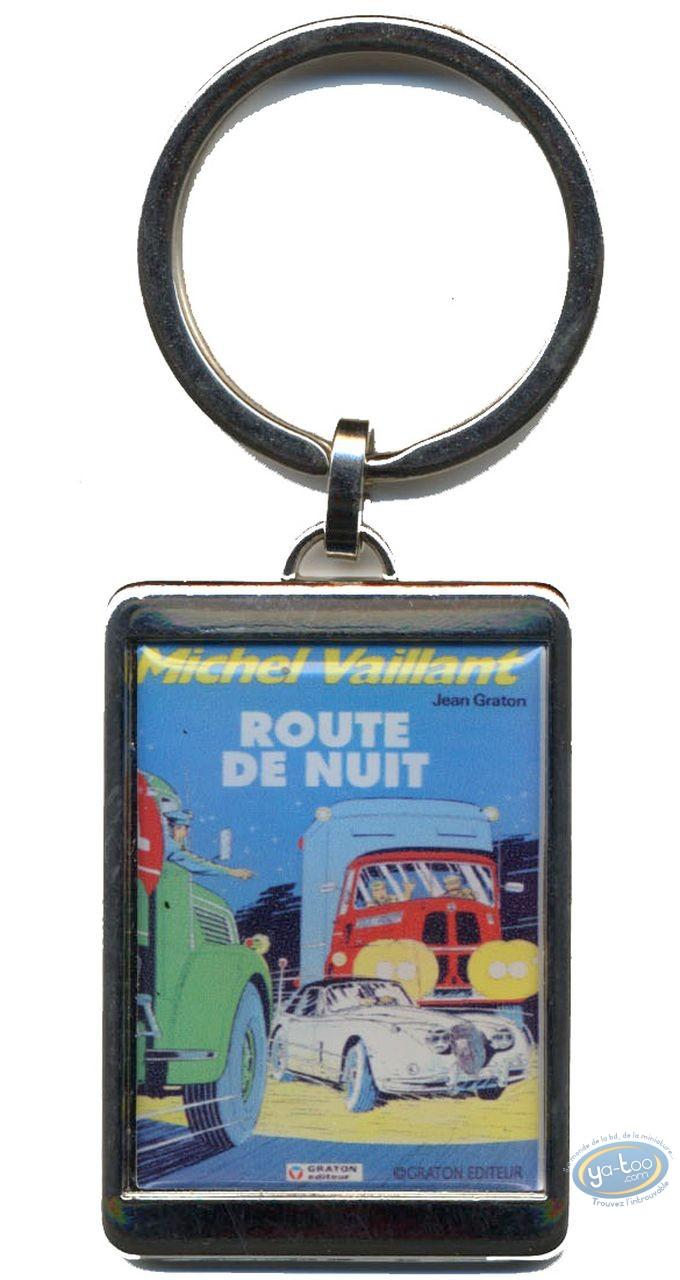 Porte-clé métal, Michel Vaillant : Porte-clé métal, Route de nuit