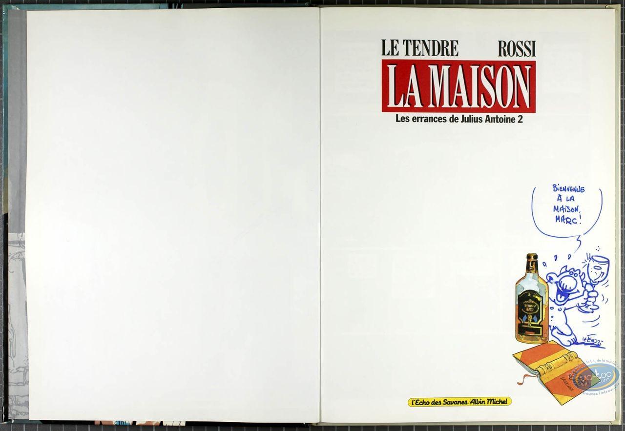 BD cotée, Errances de Julius Antoine (Les) : Les errances de Julius Antoine, La Maison,