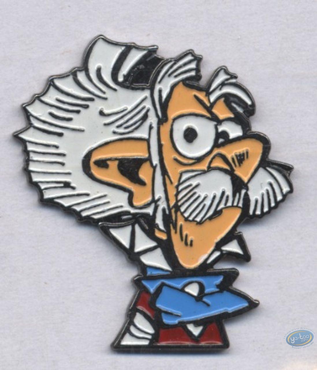 Pin's, Spirou et Fantasio : Le Comte de Champignac