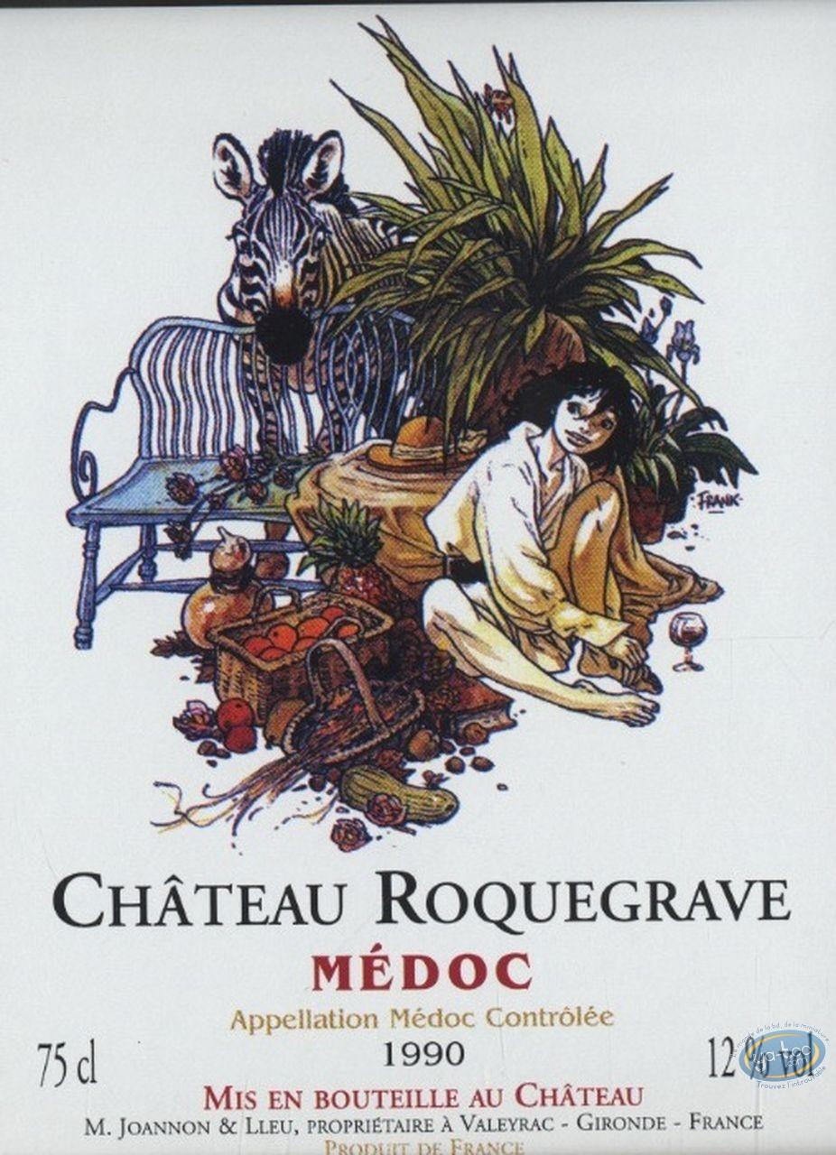 Ex-libris Offset, Zoo : Zoo - Chateau Roquegrave 1990