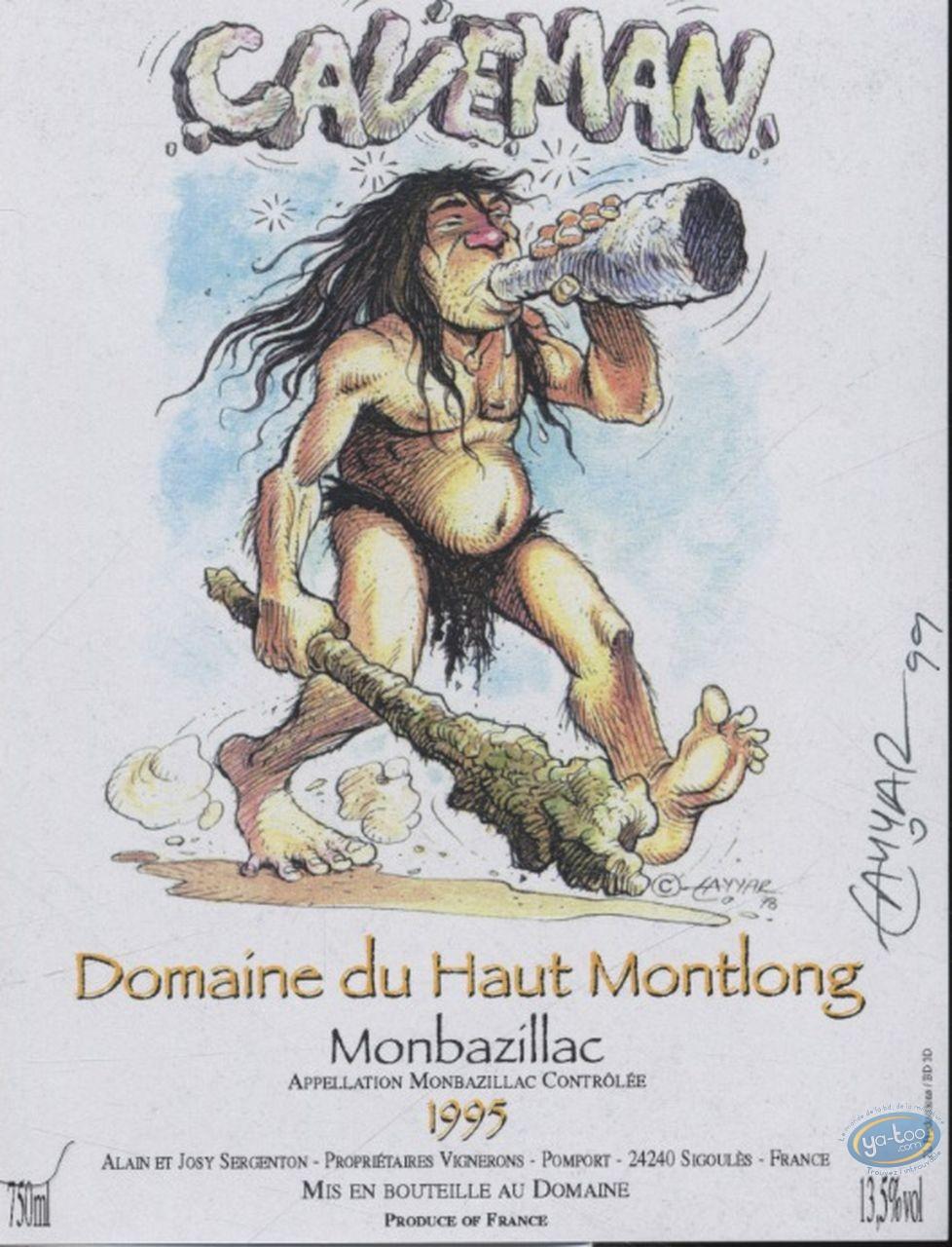 Etiquette de Vin, Caveman - Domaine du Haut Montlong 1995