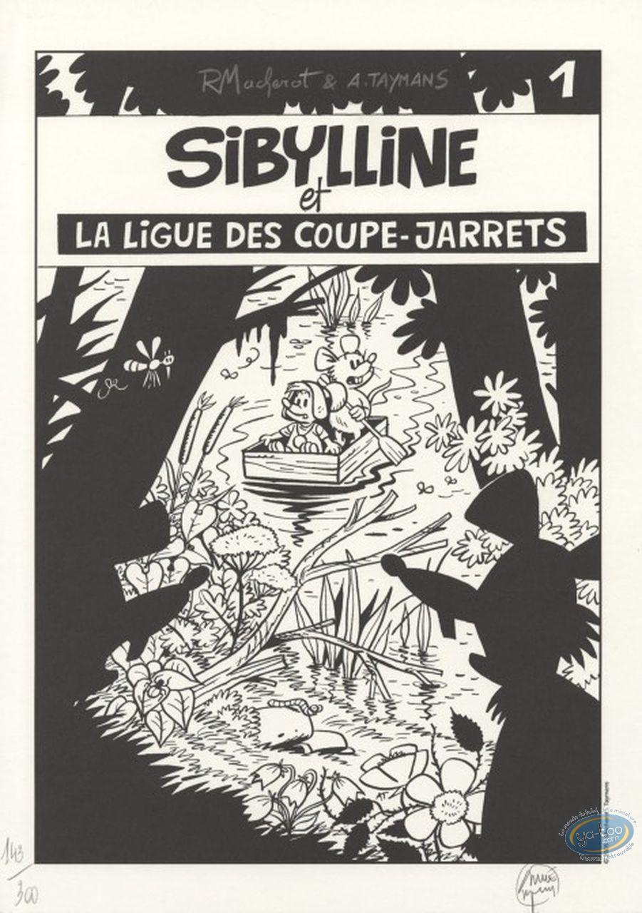 Affiche Offset, Sibylline : Sibylline et la ligue des coupe-jarrets
