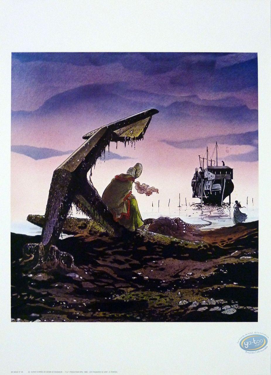 Affiche Offset, Passagers du vent (Les) : Le Ponton