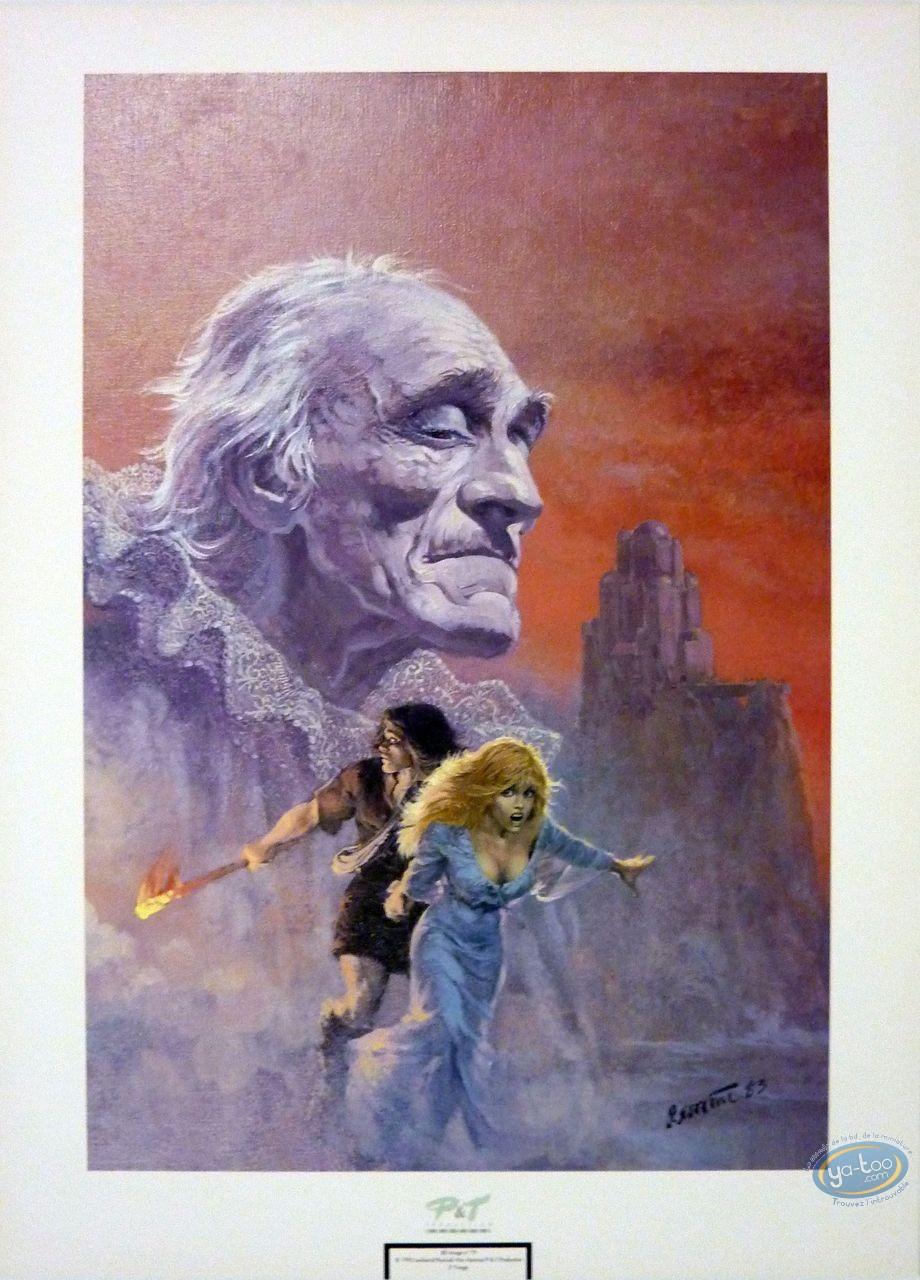 Affiche Offset, Thorgal : La chute de Brek-Zarith