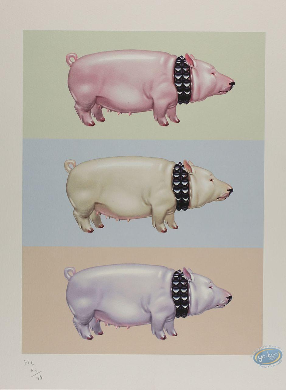 Affiche Offset, Cochons