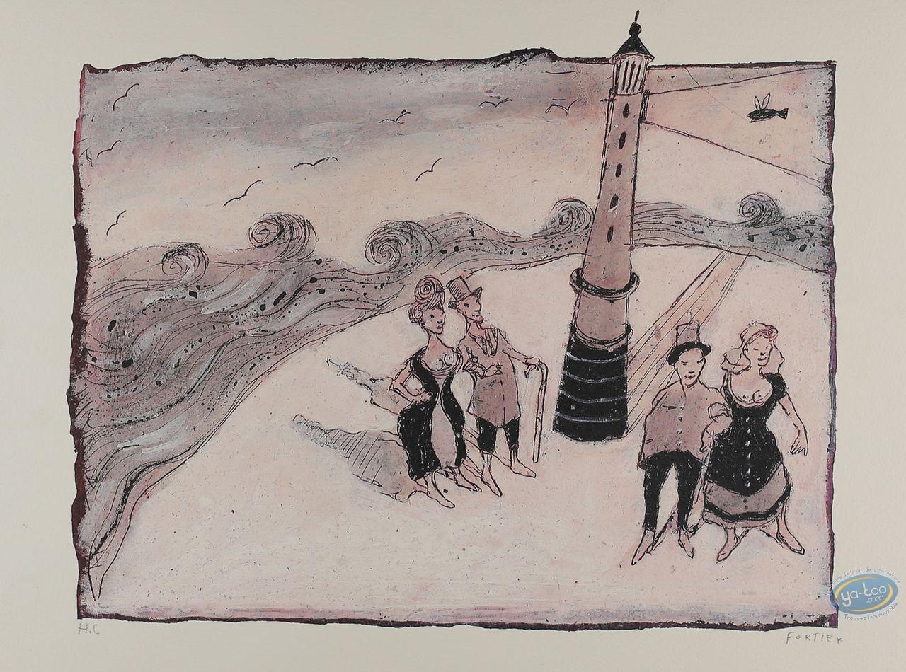 Affiche Offset, Le phare