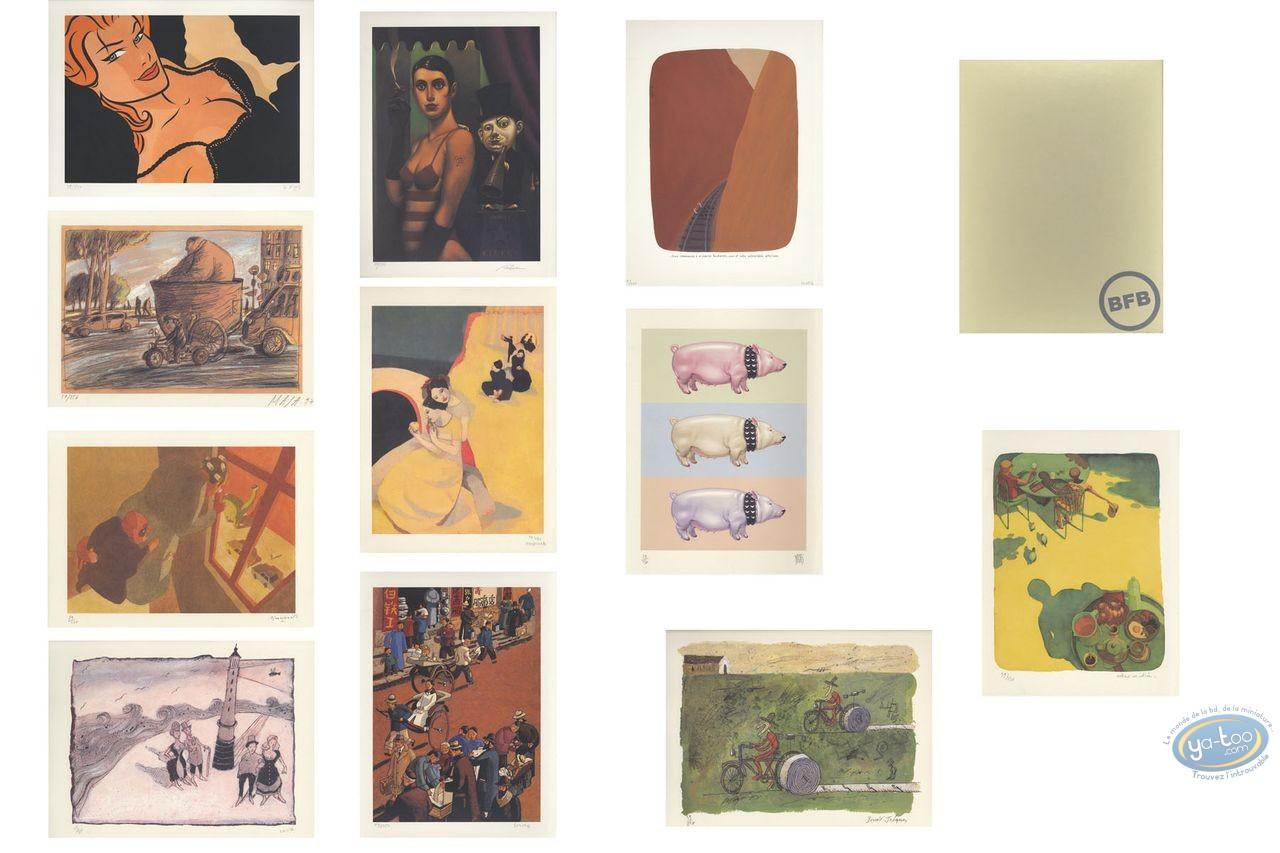 Portfolio, Illustrateurs