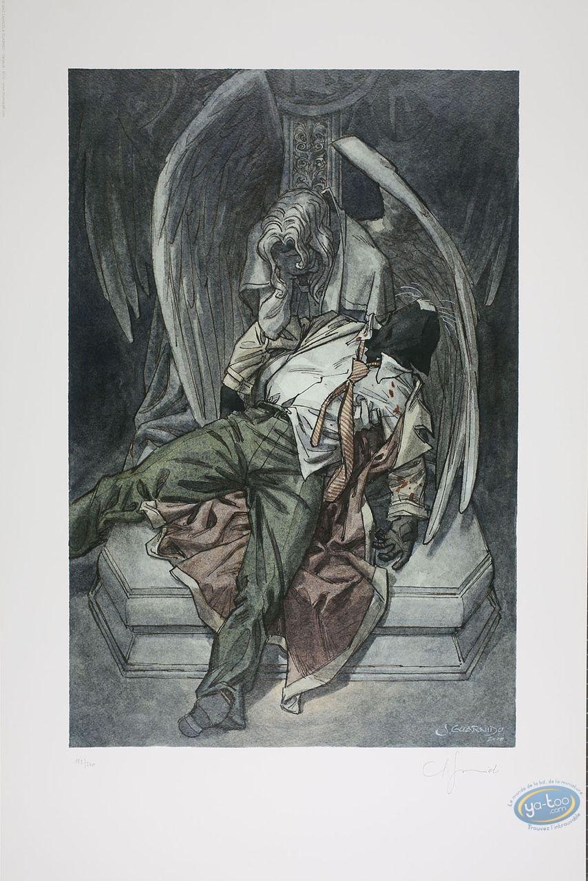 Affiche Offset, Blacksad : Le caveau
