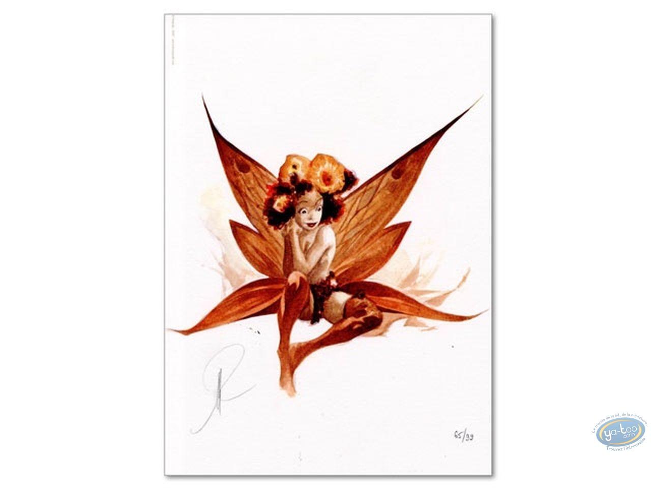 Ex-libris Offset, Féerie : Fée Fleurs
