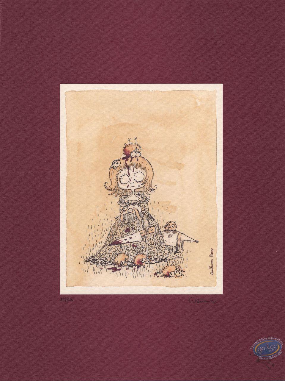 Affiche Offset, Billy Brouillard : La fille aux couteaux