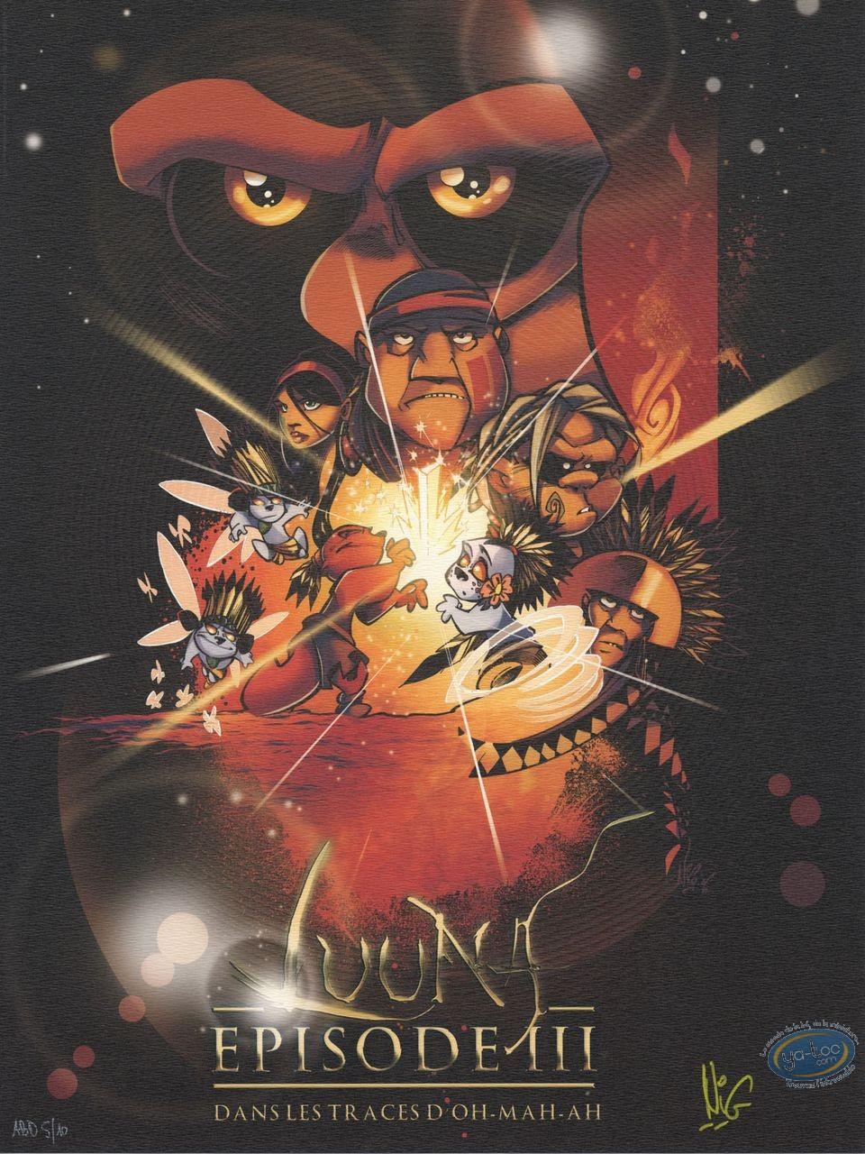 Affiche Offset, Luuna : Episode III