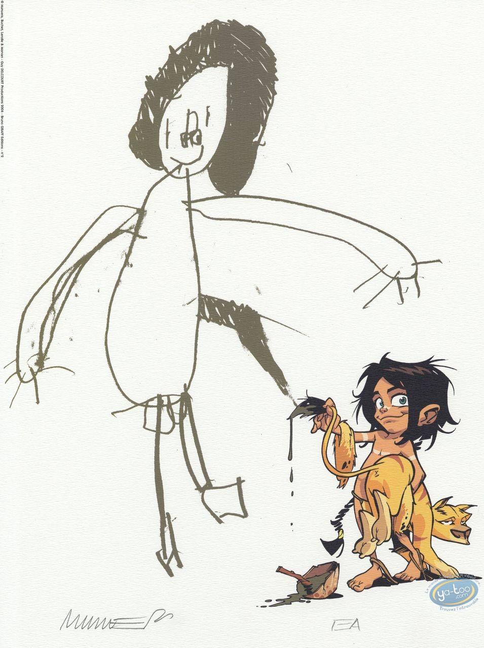 Affiche Offset, Navis : le dessin