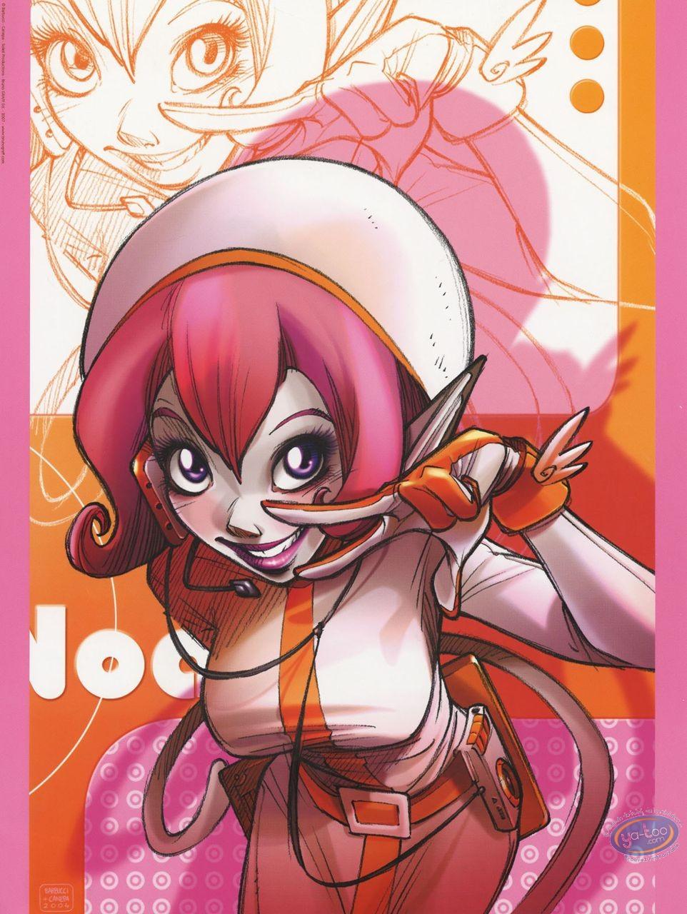 Affiche Offset, Sky Doll : Hommage à Pulp Fiction