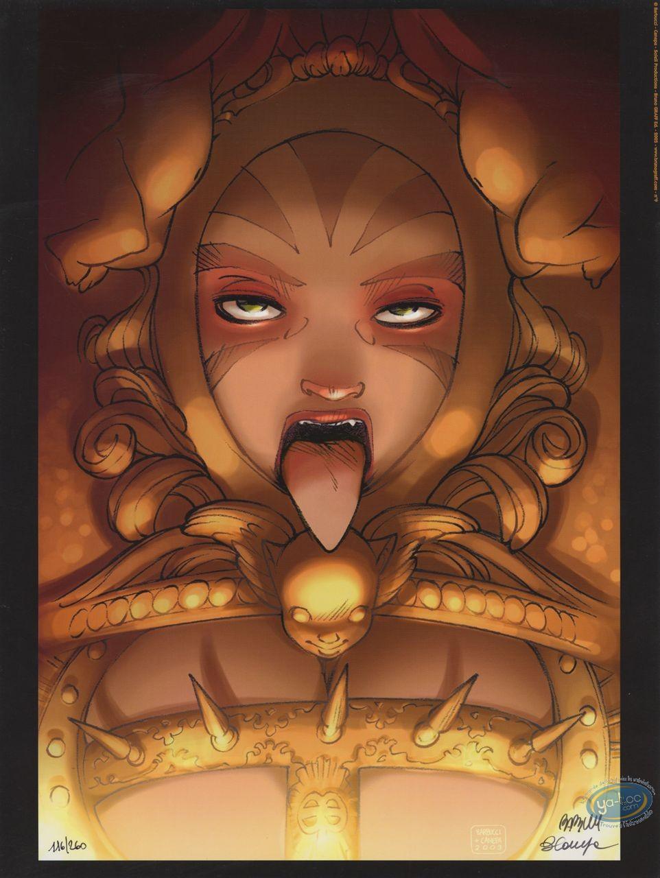 Affiche Offset, Sky Doll : Ludovique tire la langue