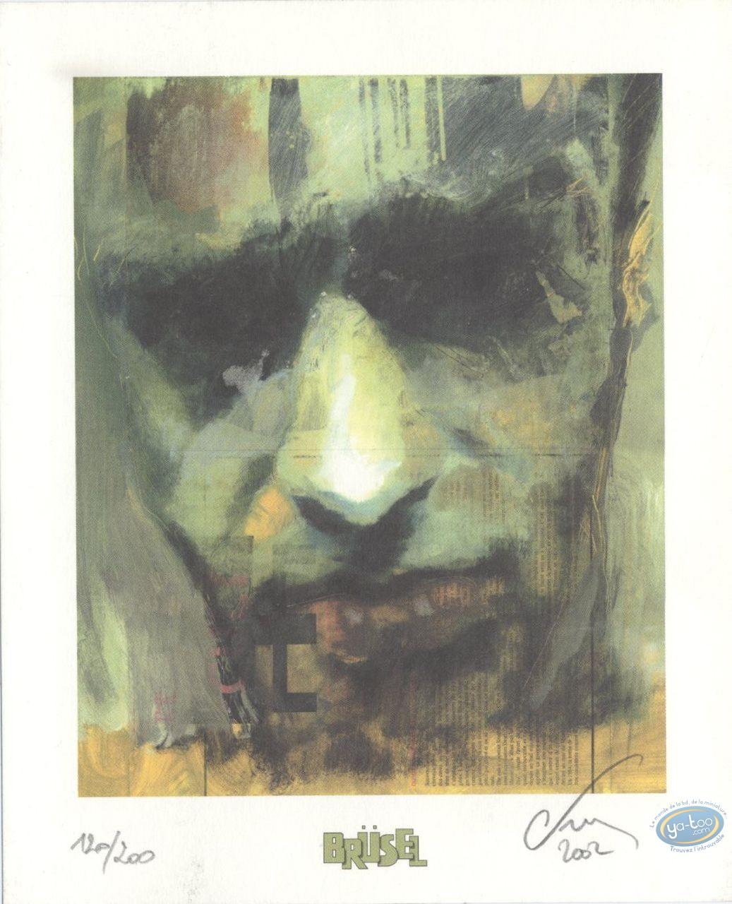 Ex-libris Offset, Dusk : Visage