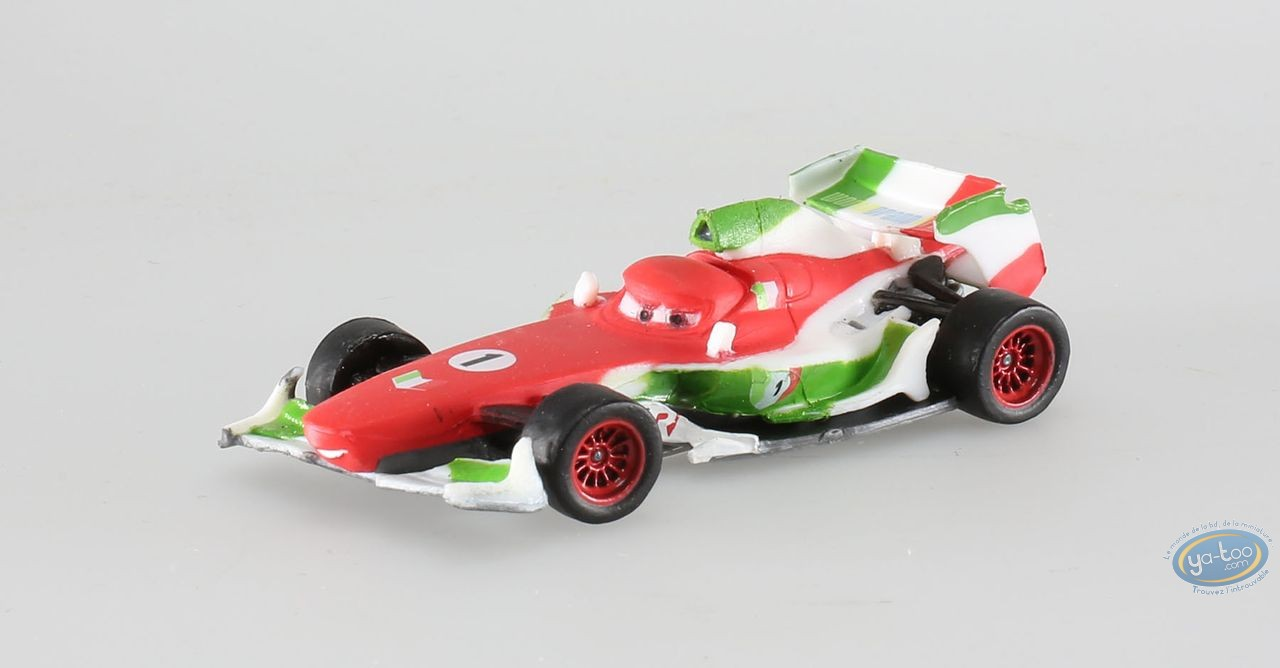 Figurine plastique, Cars : Francesco Bernouilli