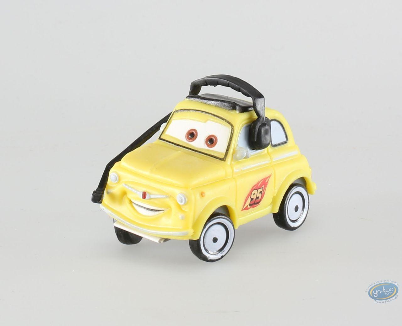 Figurine plastique, Cars 2 : Luigi avec casque