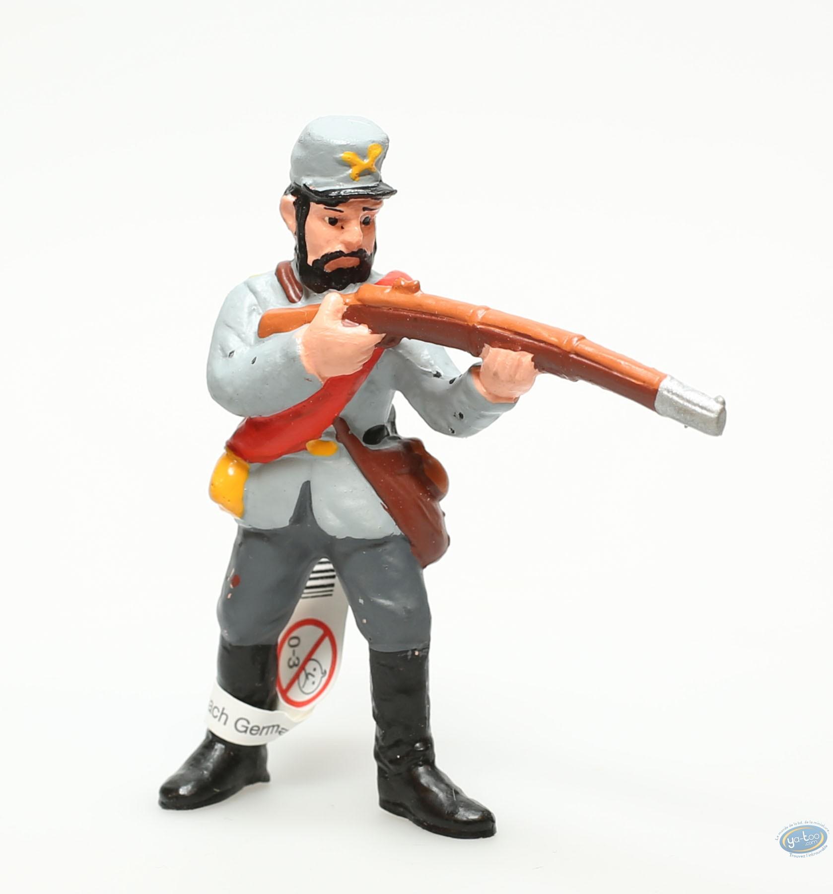 Figurine plastique, Wild West : Fantassin confédéré visant