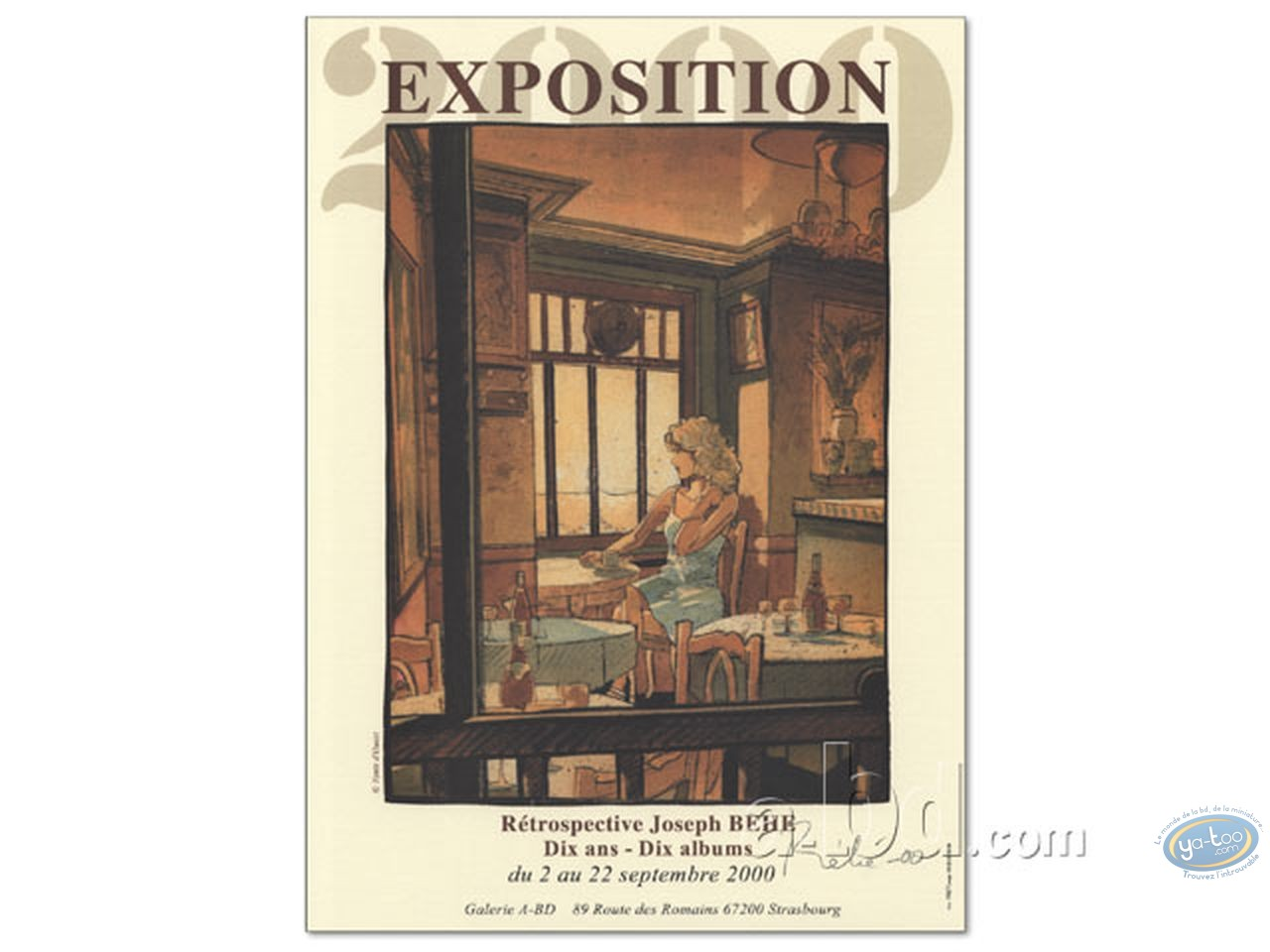 Affiche Offset, Chimères : Exposition