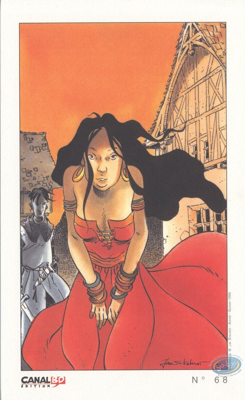 Ex-libris Offset, Esmeralda (La) : Esmeralda