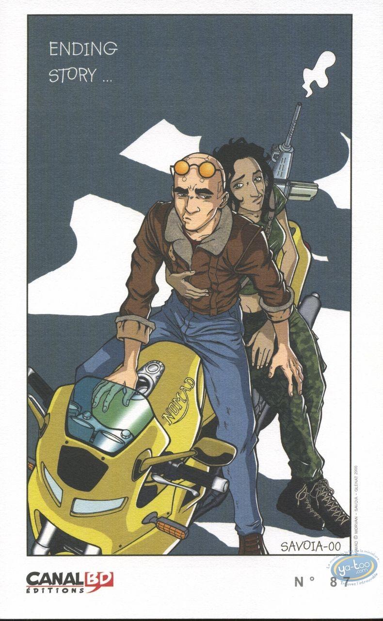 Ex-libris Offset, Nomad : Ending story