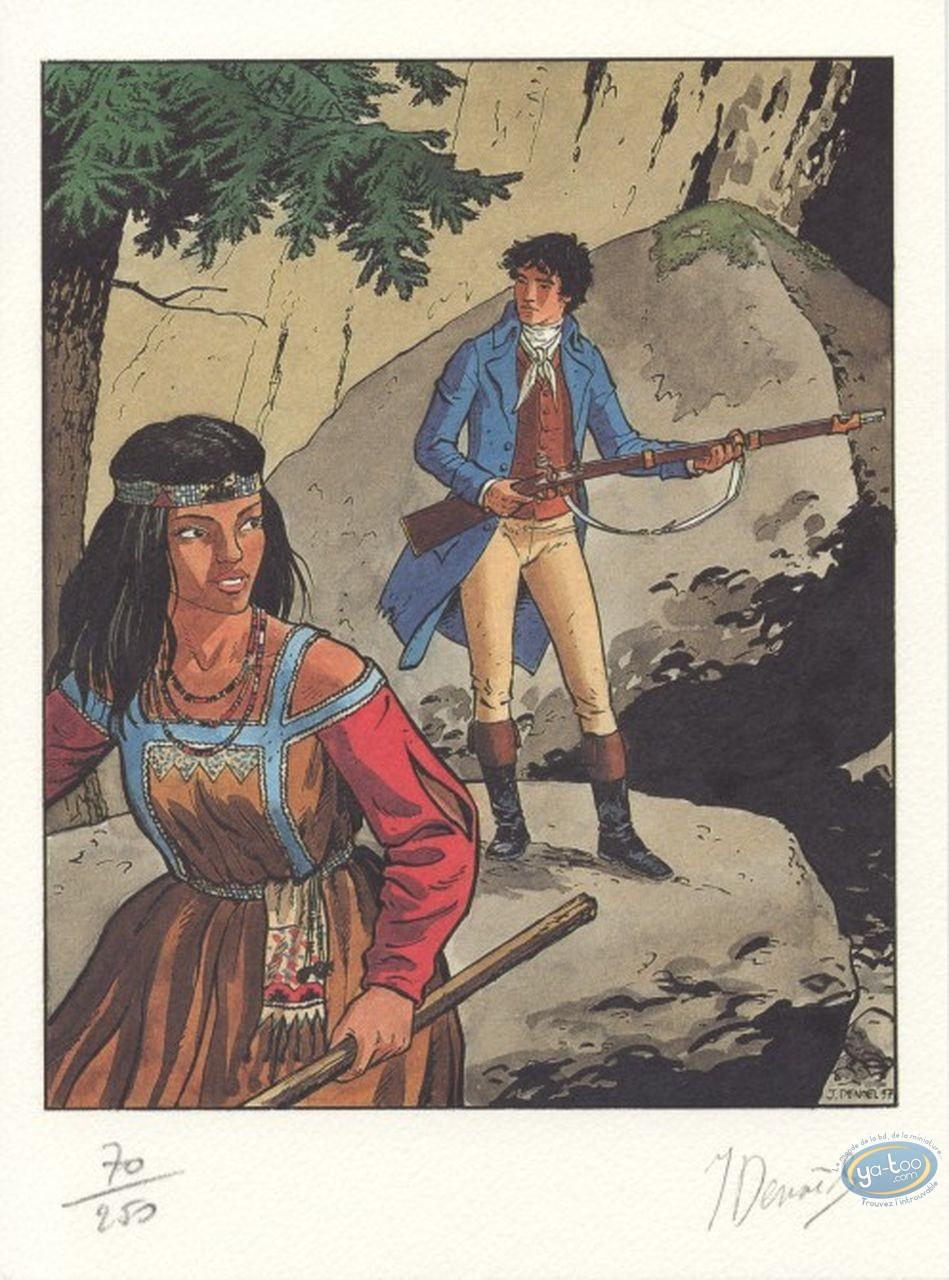 Ex-libris Offset, Arno : Arno et l'indienne