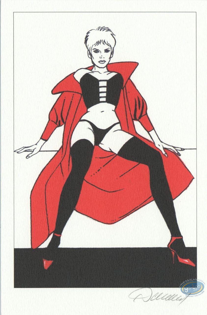 Ex-libris Offset, Jessica Blandy : Cape rouge