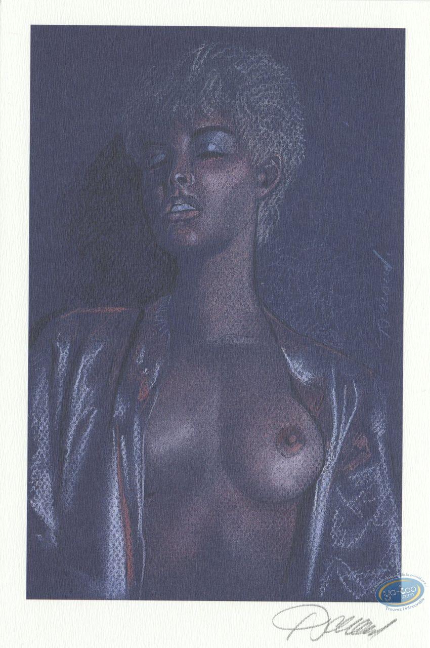 Ex-libris Offset, Jessica Blandy : Plaisir solitaire (gros plan)