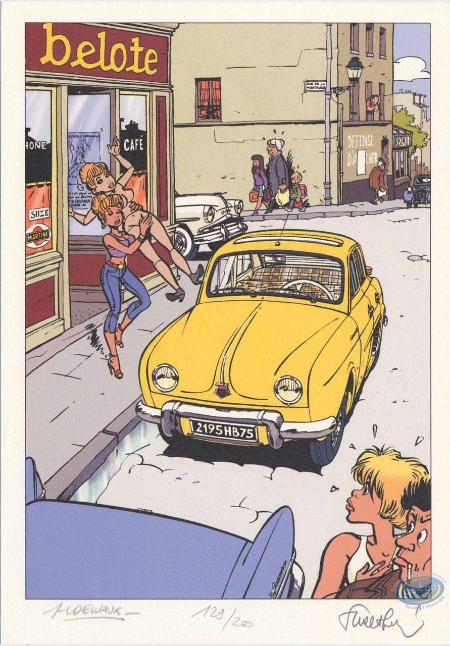 Ex-libris Offset, Pin-Up : Dauphine
