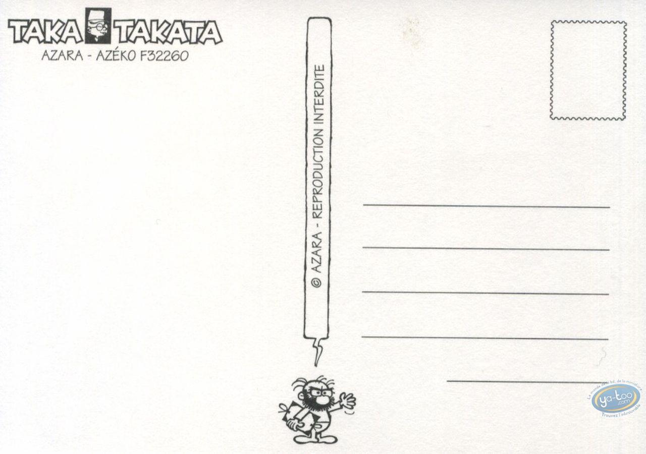 Carte postale, Taka Takata : Taka Takata fête ses 40 ans